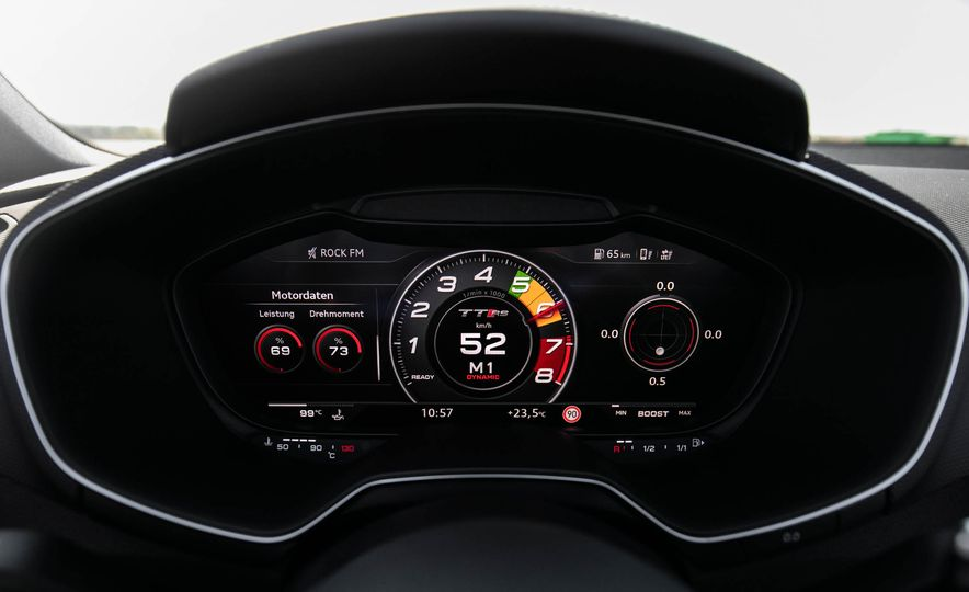 2018 Audi TT RS roadster - Slide 37