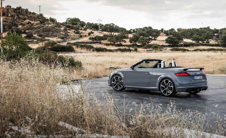 2018 Audi TT RS roadster - Slide 50