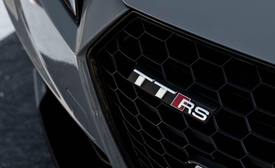 2018 Audi TT RS roadster - Slide 57