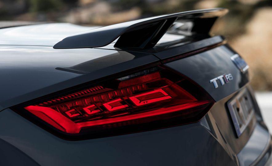 2018 Audi TT RS roadster - Slide 58
