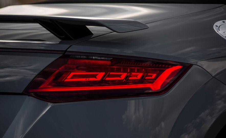 2018 Audi TT RS roadster - Slide 59