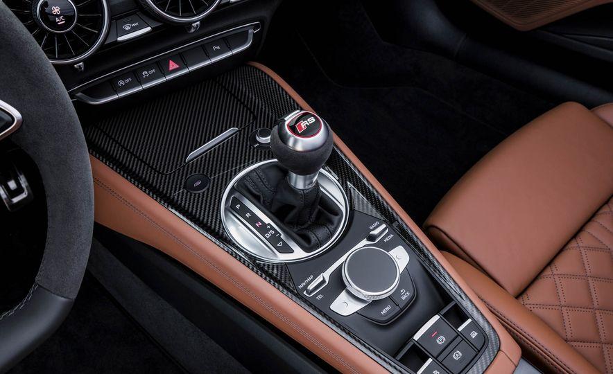 2018 Audi TT RS roadster - Slide 63