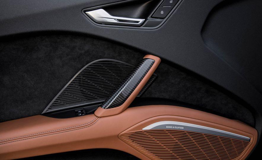 2018 Audi TT RS roadster - Slide 64