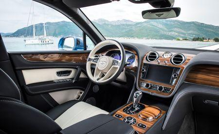 Bentley Turns to the Dark Side, Reveals Bentayga Diesel