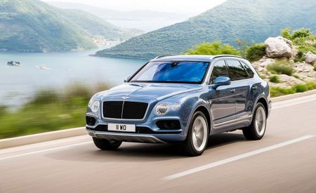 Bentley Turns to the Dark Side, Reveals Bentayga Diesel