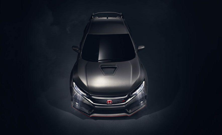 2017 Honda Civic Type R concept - Slide 13