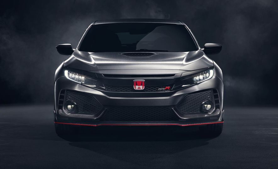 2017 Honda Civic Type R concept - Slide 14