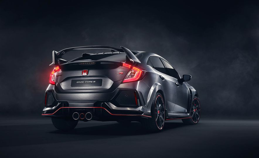 2017 Honda Civic Type R concept - Slide 17