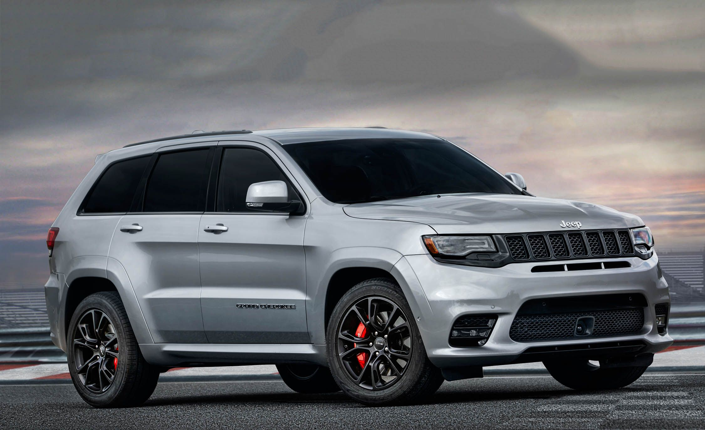 2017 jeep grand cherokee srt photo gallery car and driver. Black Bedroom Furniture Sets. Home Design Ideas