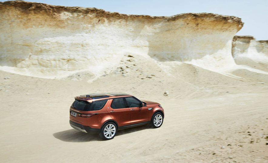 2017 Land Rover Discovery - Slide 25