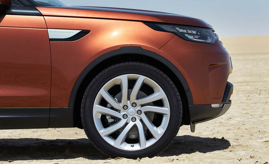 2017 Land Rover Discovery - Slide 33
