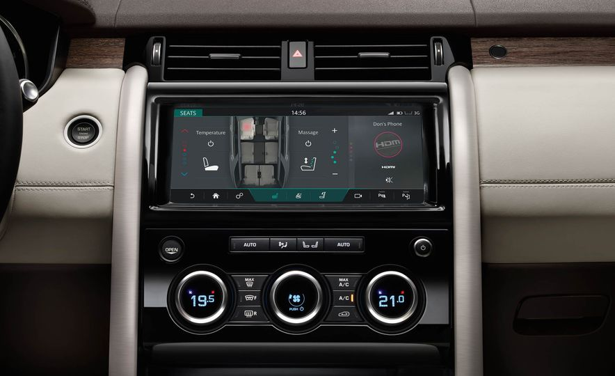 2017 Land Rover Discovery - Slide 54