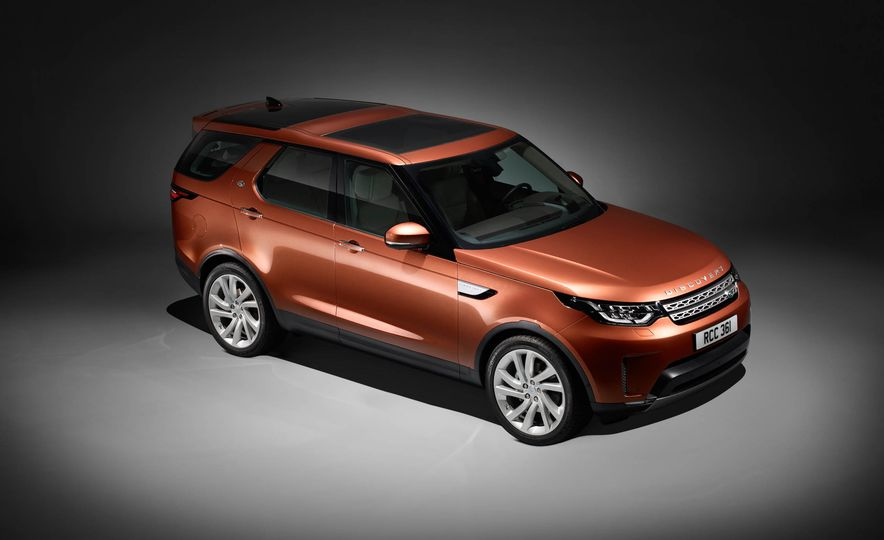 2017 Land Rover Discovery - Slide 77