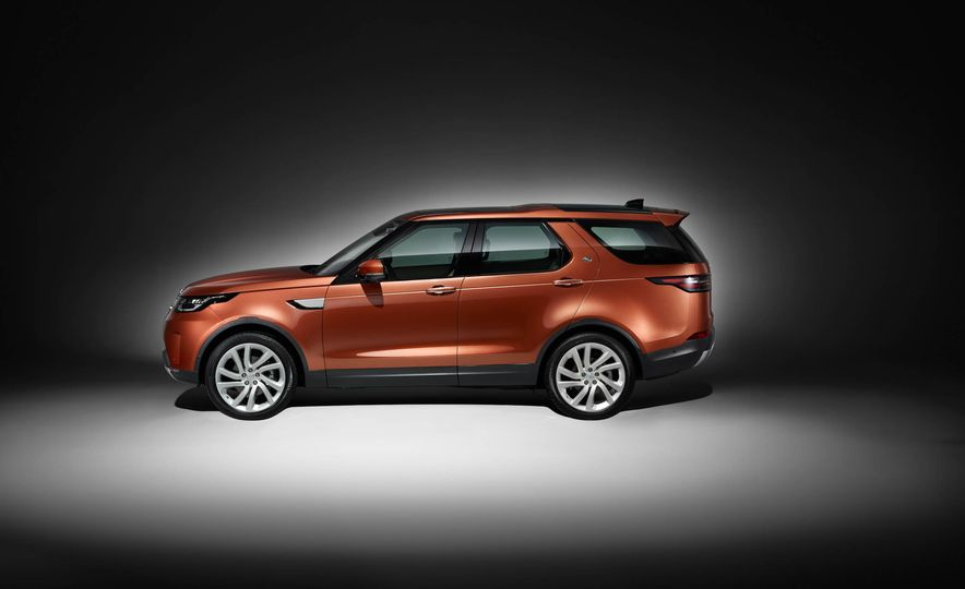 2017 Land Rover Discovery - Slide 78