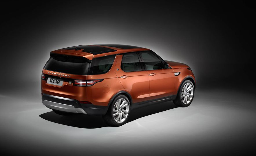 2017 Land Rover Discovery - Slide 79