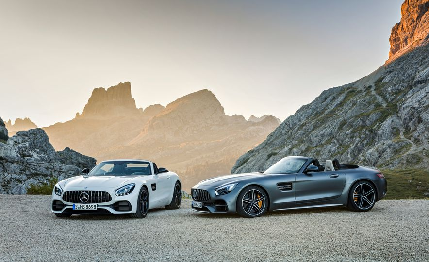 2018 Mercedes-AMG GT and GT C roadsters - Slide 1