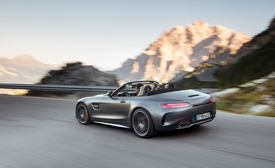 2018 Mercedes-AMG GT and GT C roadsters - Slide 7