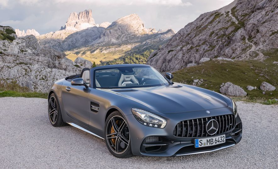 2018 Mercedes-AMG GT and GT C roadsters - Slide 8