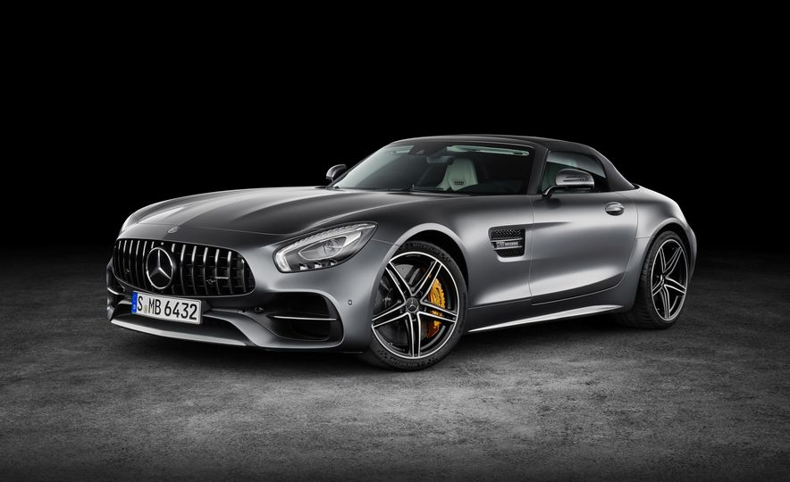 2018 Mercedes-AMG GT and GT C roadsters - Slide 10