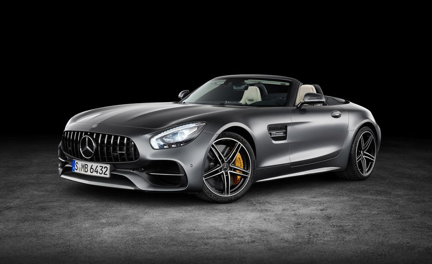 2018 Mercedes-AMG GT and GT C roadsters - Slide 11