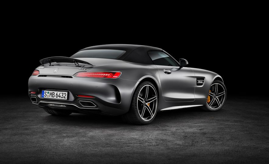 2018 Mercedes-AMG GT and GT C roadsters - Slide 14