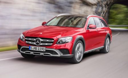 Mercedes Lifts the E-class Wagon to Create All-Terrain Variant