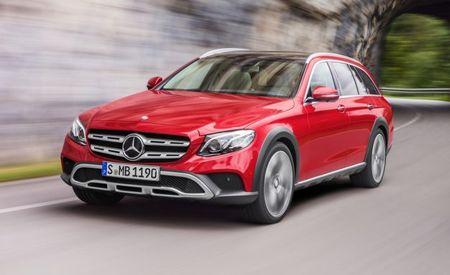 Mercedes Lifts the E-class Wagon to Create All-Terrain Variant