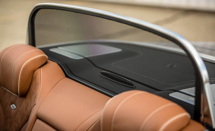2017 Mercedes-Benz S550 cabriolet - Slide 38