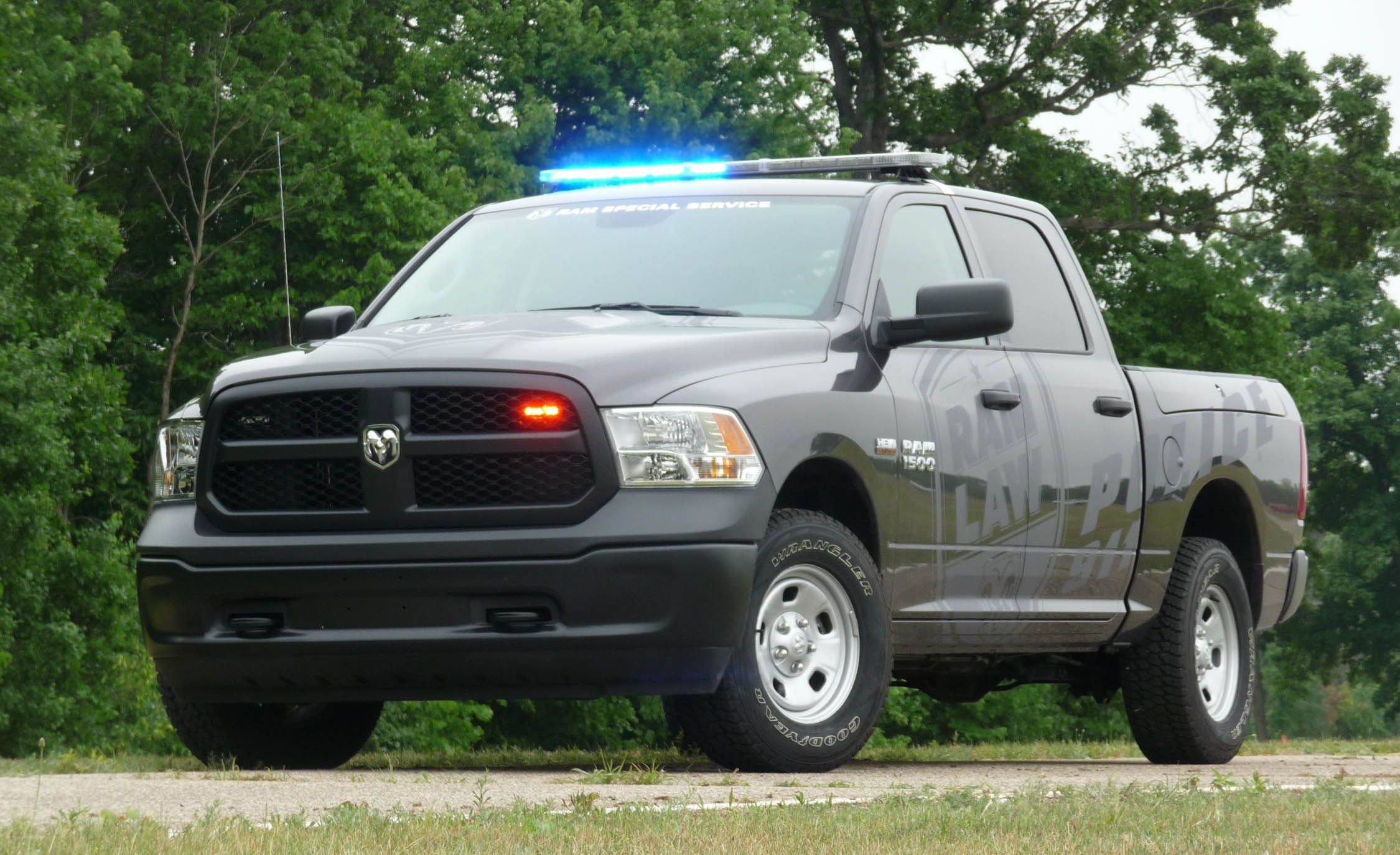 Ram 1500 Ssv Police Pickup Truck Full Test Review Car And Driver 2014 Dodge Back Up Camera Wiring Diagram Yes The Cop Version