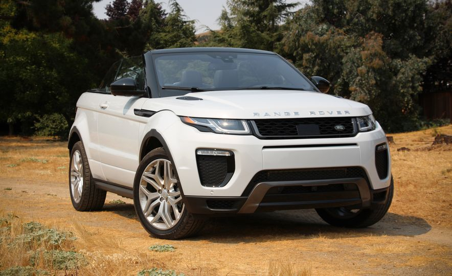 2017 Land Rover Range Rover Evoque convertible - Slide 1