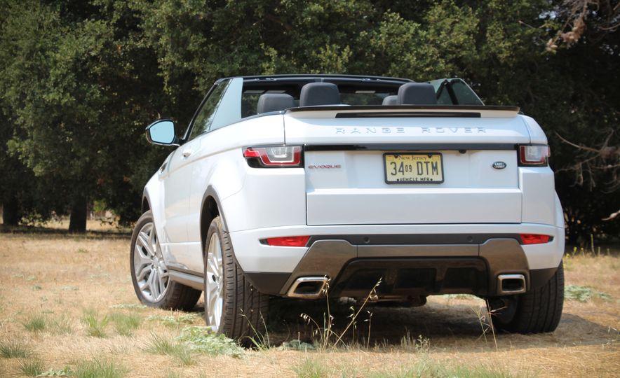 2017 Land Rover Range Rover Evoque convertible - Slide 4