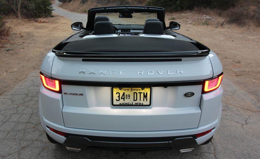2017 Land Rover Range Rover Evoque convertible - Slide 13