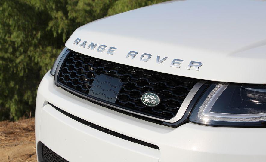 2017 Land Rover Range Rover Evoque convertible - Slide 16