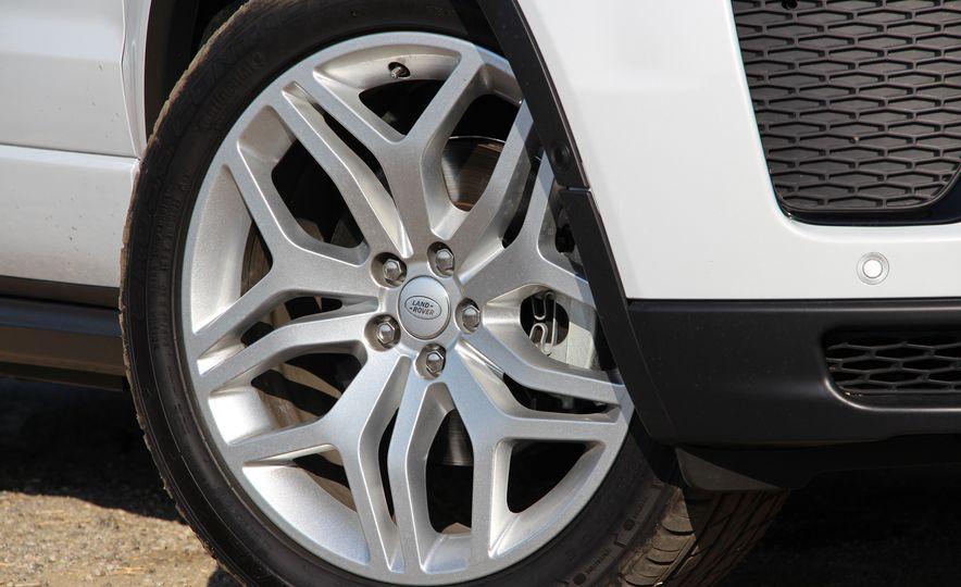 2017 Land Rover Range Rover Evoque convertible - Slide 18