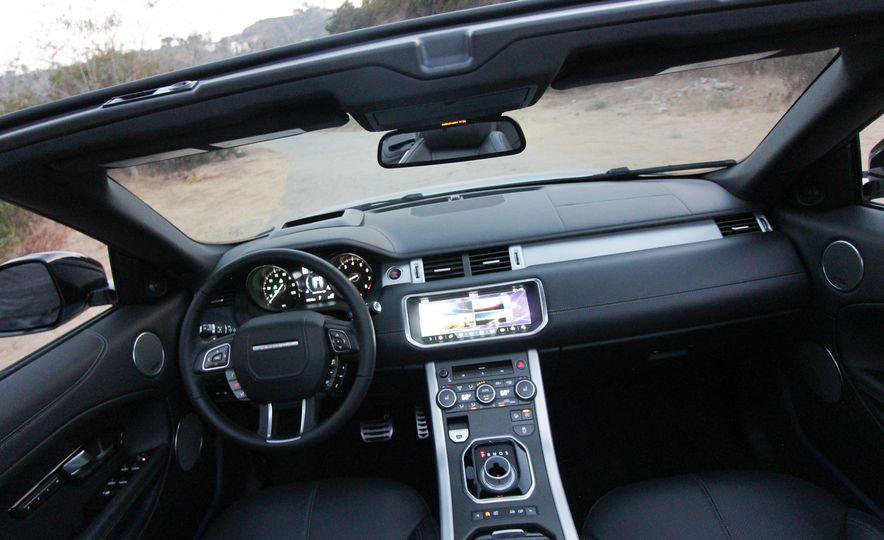 2017 Land Rover Range Rover Evoque convertible - Slide 36