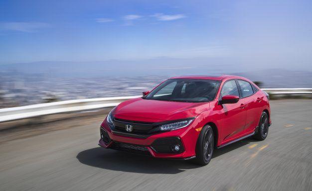 Save The Manuals Turbocharged Honda Civic Hatch Starts At 20 535 News Car And Driver