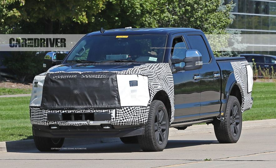 2018 Ford F-150 (spy photo) - Slide 5