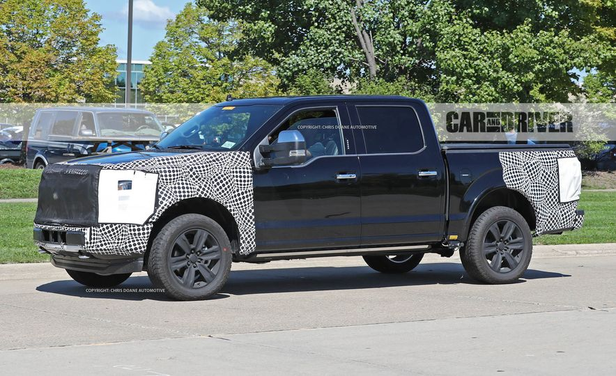 2018 Ford F-150 (spy photo) - Slide 8