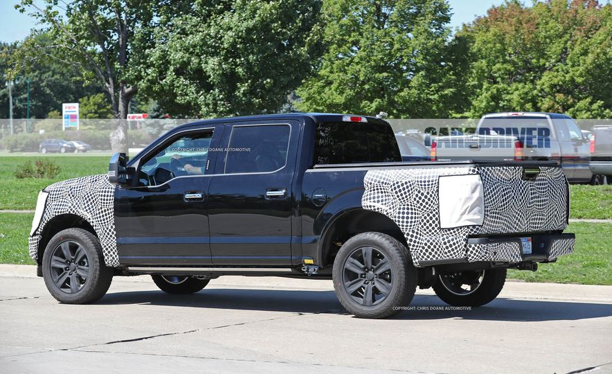 2018 Ford F-150 (spy photo) - Slide 11