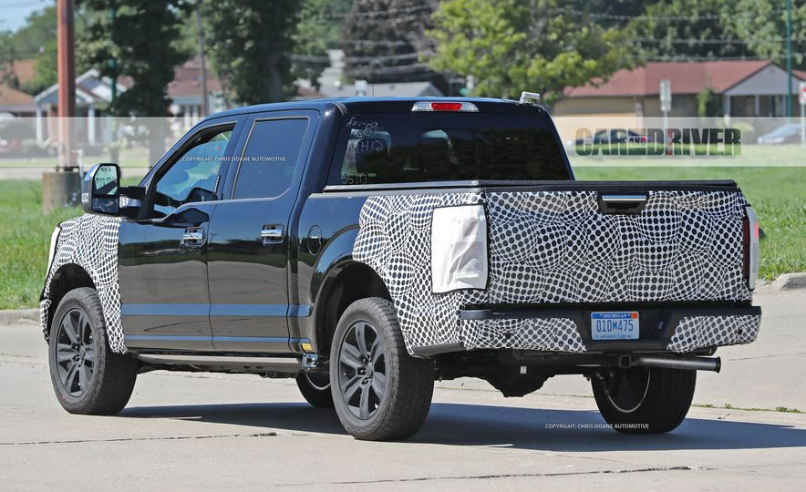2018 Ford F-150 (spy photo) - Slide 12
