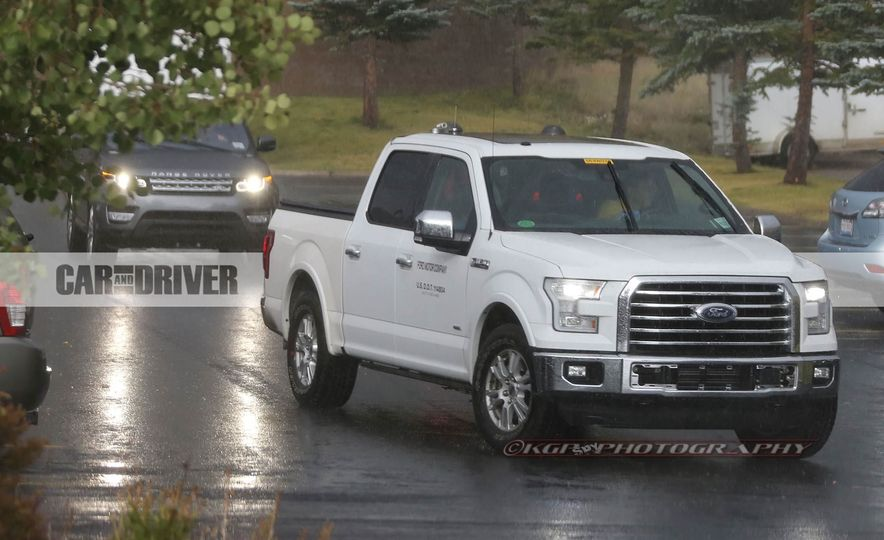 2018 Ford F-150 (spy photo) - Slide 16