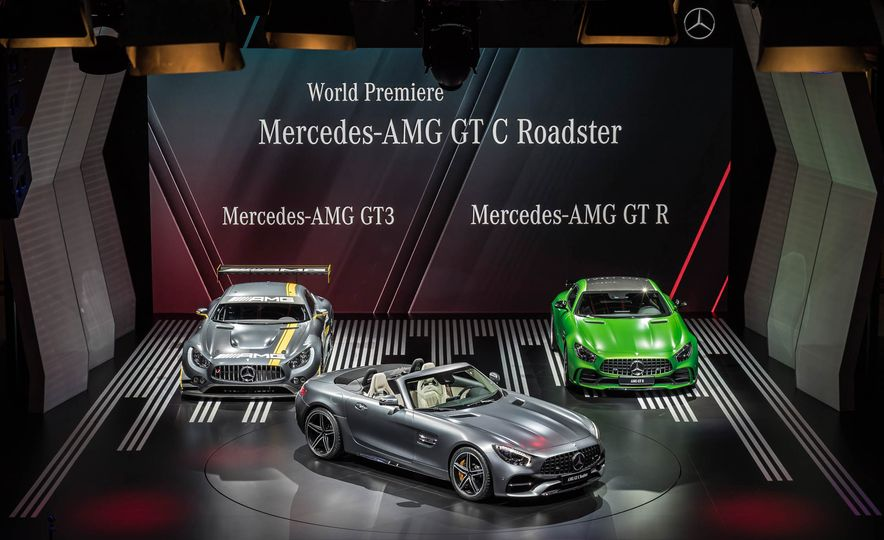 2018 Mercedes-AMG GT C roadster - Slide 1