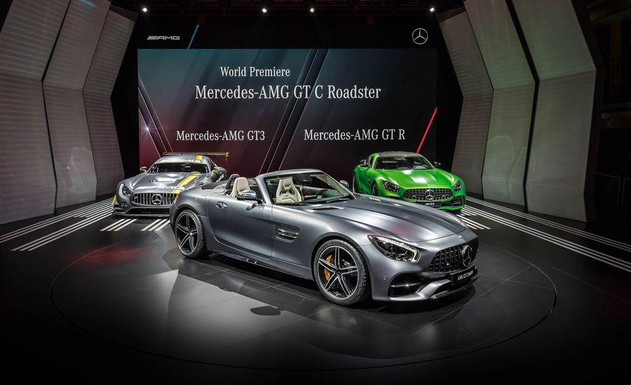 2018 Mercedes-AMG GT C roadster - Slide 2
