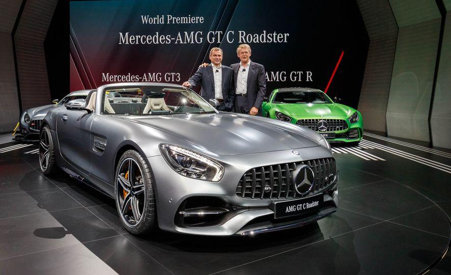 2018 Mercedes-AMG GT C roadster - Slide 3