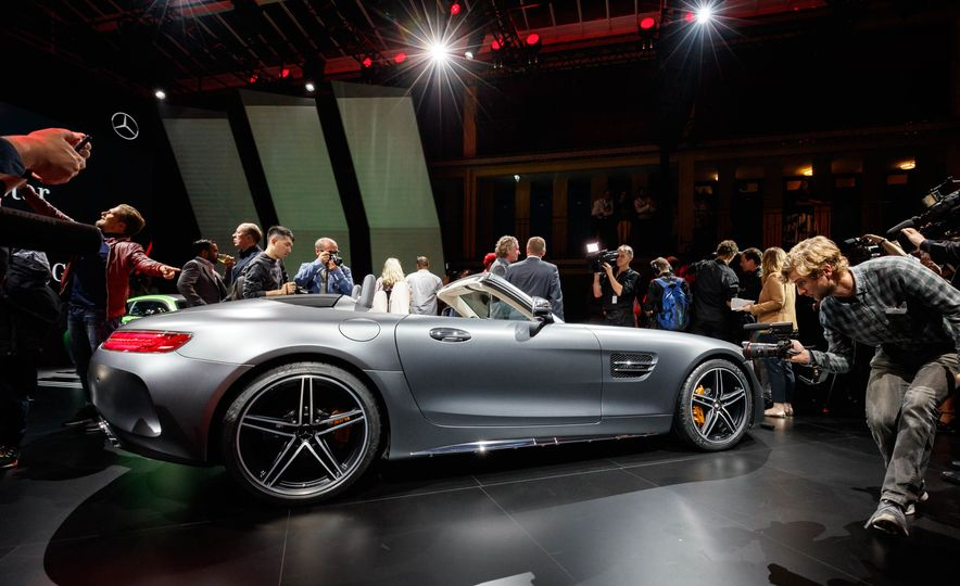2018 Mercedes-AMG GT C roadster - Slide 4