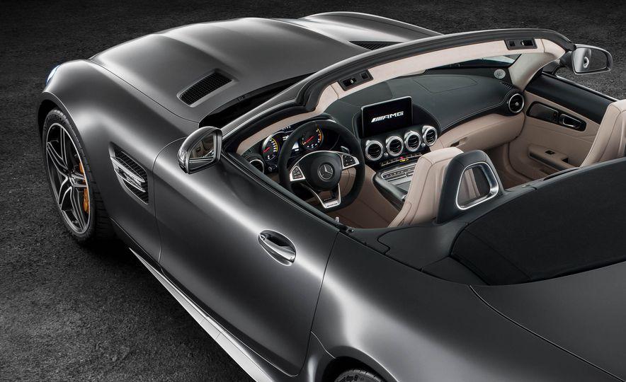 2018 Mercedes-AMG GT C roadster - Slide 18