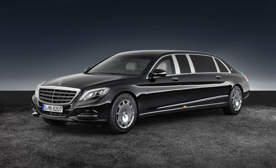 Mercedes-Maybach S600 Pullman Guard - Slide 1