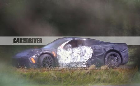 New Spy Photos! Mid-Engined C8 Chevrolet Corvette Caught in Profile!