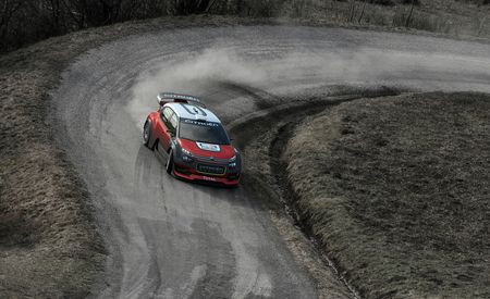 Citroen's Tiny, Bad-Ass C3 WRC Gets Ready to Rally