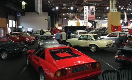 Coys Brings All the Old Toys to the Paris Auto Show